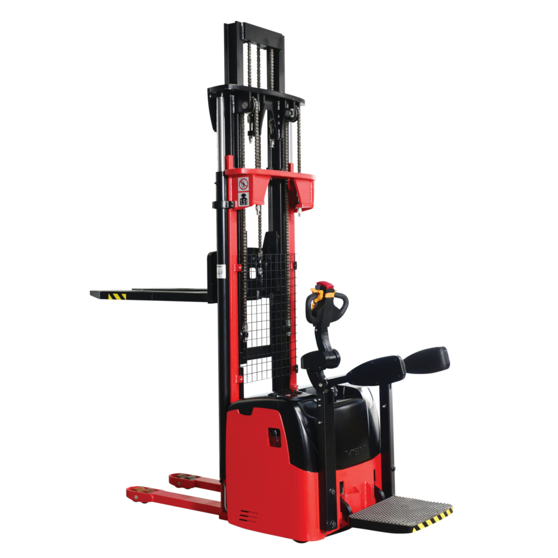 Electric Pallet Stacker for middle and heavy duty applications KMS.AC