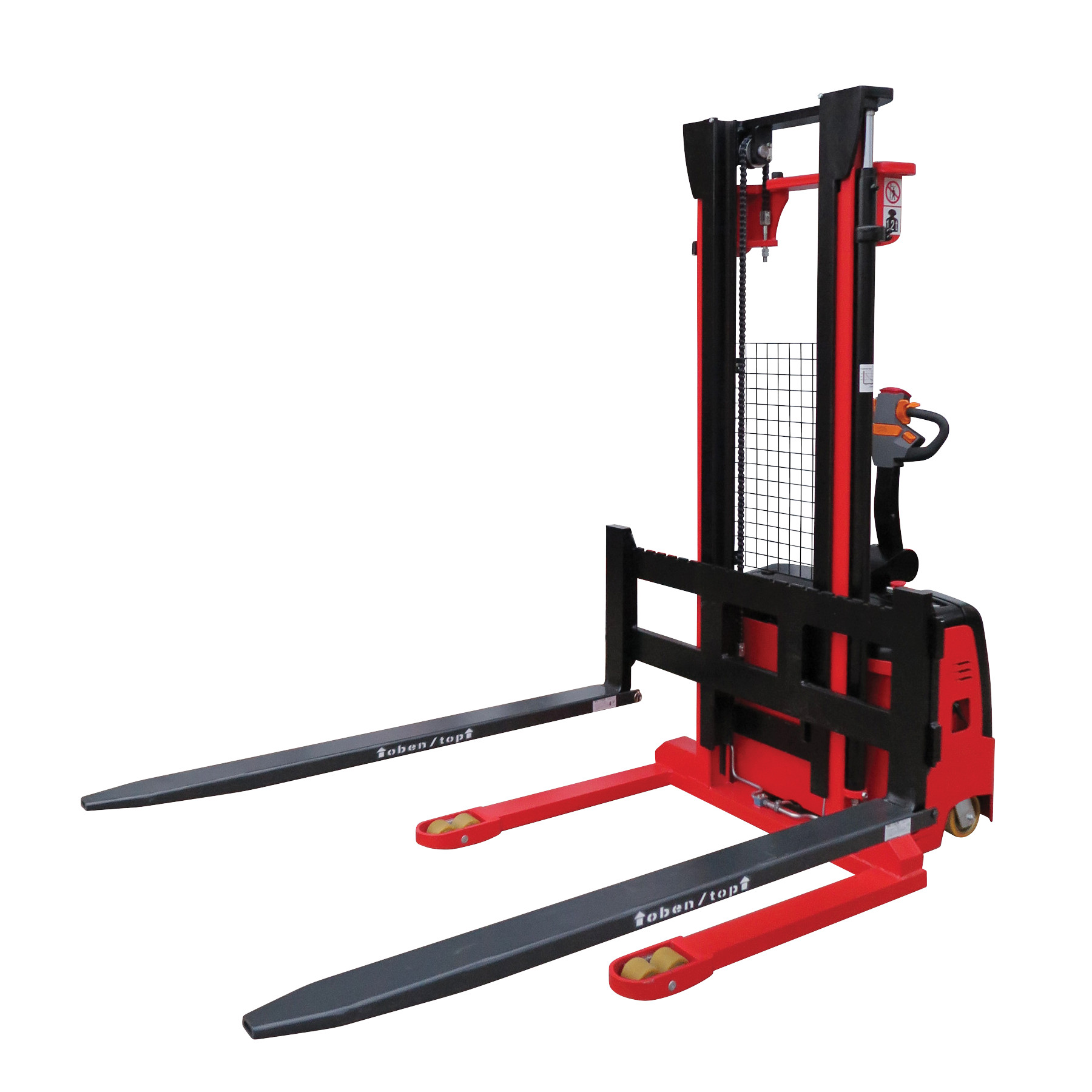 Electric Pallet Stacker – Straddle Type KMS.AC.MCH