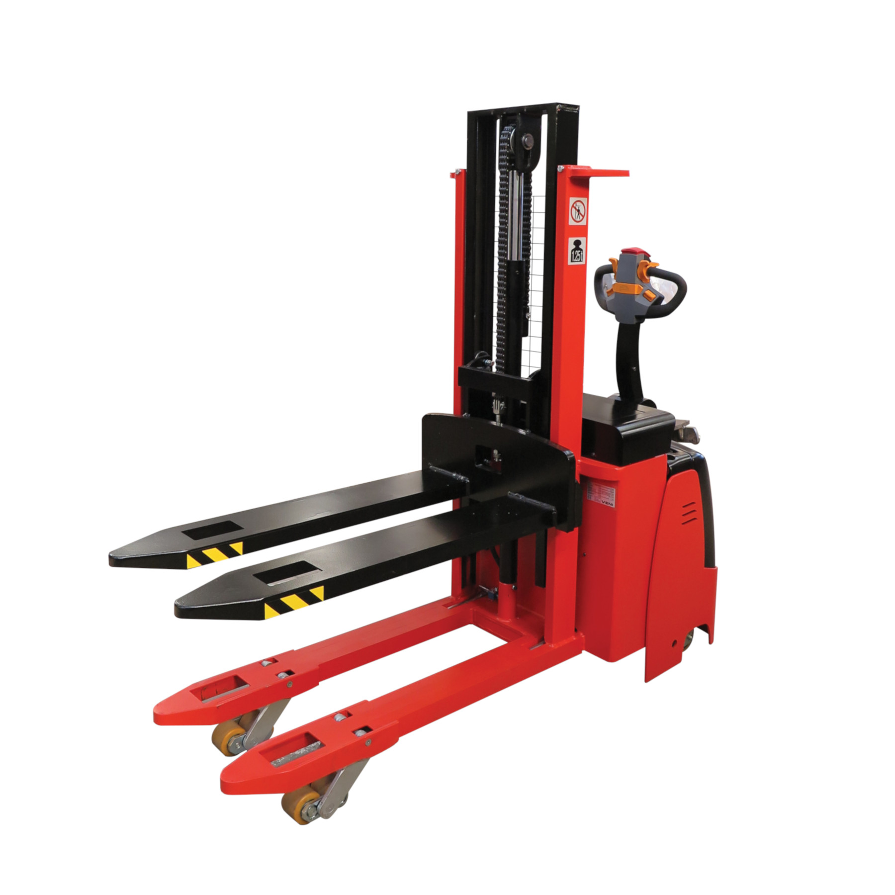 Electric Pallet Stacker with Initial Lift KMSI.AC